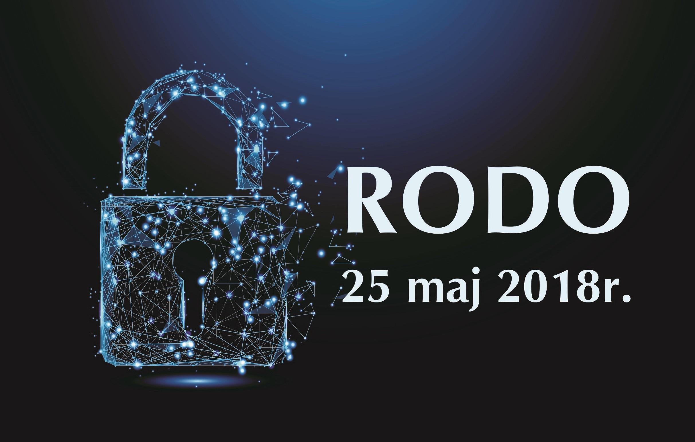 ed9f1957e8e038 RODO - Rozporządzenie Parlamentu Europejskiego i Rady (UE) 2016/679 z dnia  27 kwietnia 2016r. w sprawie ochrony osób fizycznych w związku z  przetwarzaniem ...